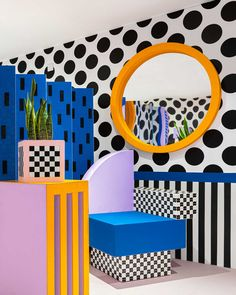 Camille Walala Designs a Colorful House with LEGO That's Every Kid's Fantasy - Design Milk Memphis Design, Camille Walala, Design Movements, 2020 Design, Tahiti, Home Interior, House Colors, Kitsch, Surface Design