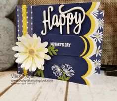 Creating with Becky's Stamping Spot | blog Daisy Delight, Delightful Daisy, Daisy punch, Mothers Day