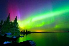 Northern Lights (Boulder Lake, Duluth, MN; May 7, 2016, 11:56 PM) Photo by Shixing Wen