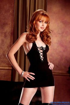 Redhead Mia S In A Minidress And Pantyhose | Babes And Cuties