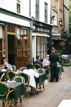 Le Boudin Blanc, a great French restaurant in Mayfair