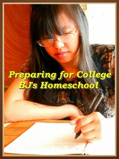 BJ's Homeschool - Our Journey Towards College: Helping my daughter Prepare her Heart for College