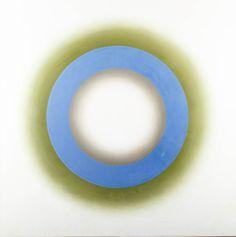 WOJCIECH FANGOR (1922 - 2015)  E 18, 1966   olej, płótno / 127 x 127 cm