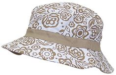 9566a944a9f Solid Wing Reversible Summer Floppy Bucket Hat W Hawaiian Designs (One  Size) - Tan One Size Fits Most Up To 23 Head Circumference (Hat Size Up To  7 2 Wide ...