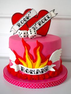 Old School Tattoo cake https://www.facebook.com/pages/Oooh-My-Cake-happy-day/239410712736020?ref=hl