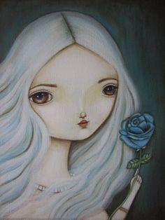 """Lauren Saxton, """"The Blue Rose"""""""