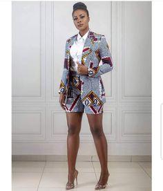 Super Cute West African Wax Batik Shorts Afro Punk