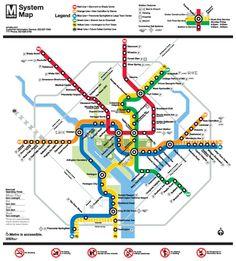 DC Metro's new map