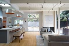 Palo Alto Eichler Remodel   Custom Home Magazine   Klopf Architecture, Palo Alto, CA, USA, Single Family, Renovation/Remodel, Architectural Detail, Bath, Bedroom, Deck, Dining Room, Exteriors, Kitchen, Living Room, Outdoor, Patio, Modern, Residential Projects