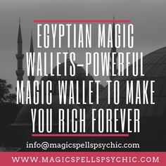 These magic wallets play a vital role in the lives of every man. We shall focus on a magic wallet not any ordinary not any other wallet. Magic wallets are commonly used to earn extra cash especially in this competitive business world. Powerful Money Spells, Money Spells That Work, Saving A Marriage, Good Marriage, Getting Over Someone, When Someone, Black Magic Love Spells, Marriage Advice Quotes, Psychic Powers