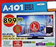 A101 markete gelen hi-level 39hl590 uydu alıcılı televizyon özellikleri ve fiyatı
