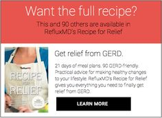 Recipe for relief in content ad
