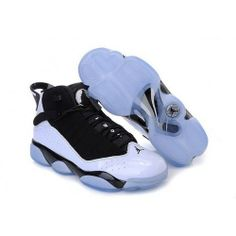 623d6da44218 authentic retro jordan 6 rings white black   blue for sale -