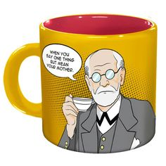 Freud Set With Large Slippers | Philosophers Guild | Fab.com