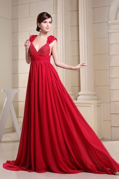 Red Dresses Casual Wedding Party