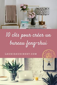 10 keys to create a feng-shui office - 10 keys to create a feng-shui office / Laurie Audibert, Holistic Coach for Spiritual Entrepreneurs. Feng Shui Home Office, Feng Shui House, Feng Shui Bedroom, Office Wall Colors, Office Walls, Zen Home Decor, Double Desk, How To Feng Shui Your Home, Web 2.0