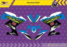 Custom Decal Vinyl Striping Motor Full Body Yamaha R25 Thema Blue FIAT Monster Energy by DIGITIVE #DecalVinylStripingMotorFullBody #DIGITIVE #KreatifitasLeMuel #LeMuel #ProdukProdukKreatifLeMuel #StripingMotorFullBody #StripingMotorSemarang #StripingMotorYamahaR25