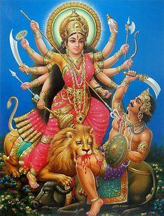 Mahisasuramardini Stotram by Kausthub Desikachar  -  http://kausthub.com/hear/mahisa