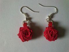 Rose ear rings