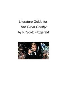 the great gatsby written by scott fitzgerald essay F scott fitzgerald manages to define, praise, and condemn what is known as the american dream in his most successful novel, the great gatsby the novel is set in 1922, and it depicts the american.