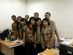 Last day wth Data Entry & CA crew Adira Dps. August 2010