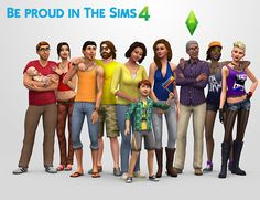 The Sims 4 tells users to 'be proud' with showcase of same-sex relationships