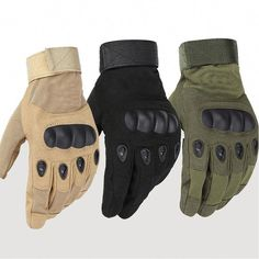 bf7c2c6f5 Tactical Anti Slip Outdoor Full Finger Gloves Tactical Gloves