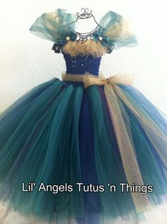 Merida+from+Brave+Tutu+Dress+by+LilAngelsTutus+on+Etsy,+$53.00