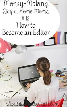 How to Become and Make Money as a Freelance Editor