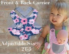 baby doll carrier pattern - Google Search