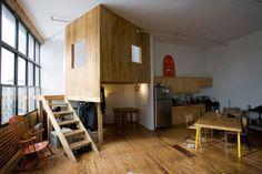 TERRI CHIAOA Cabin in a Loft