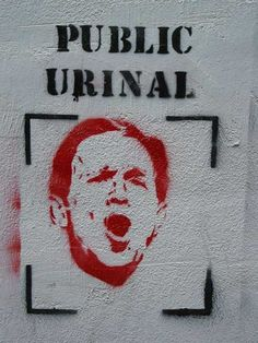 Banksy..jeez, I've been hanging on too long.....
