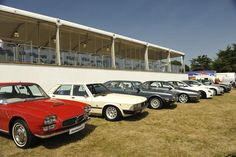 Maserati Quatroporte history. Goodwood Festival of Speed 2013