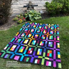 Night Owl Quilting & Dye Works Picnic Blanket, Outdoor Blanket, City Slickers, Night Owl, Quilt Making, Color Pop, Pattern Design, It Works, Quilting