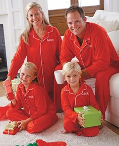 matching family pjs xmas3 | Holiday | Pinterest