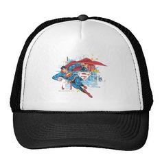 Superman - Stop Evil. Producto disponible en tienda Zazzle. Accesorios, moda. Product available in Zazzle store. Fashion Accessories. Regalos, Gifts. #gorra #hat #heroe #hero #american