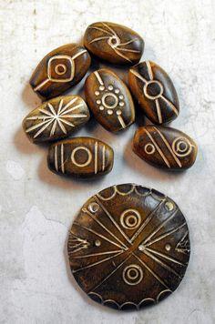 Brown Beads by MargitB., via Flickr