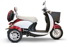 Purchase Your 500 Watt Electric Powered Euro Style 2 Color Sport Scooter Trike - Today! Electric Power, Electric Scooter, Electric Cars, 3 Wheel Scooter, Moped Scooter, Trike Motorcycle, Vespa Scooters, Velo Cargo, Tubeless Tyre