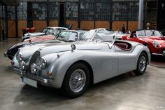 The XK120 was launched in roadster form at the 1948 London Motor Show as a testbed and show car for the new Jaguar XK engine. Description from boldride.com. I searched for this on bing.com/images
