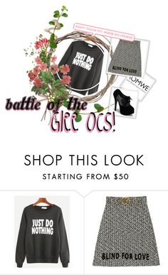 """""""Bez naslova #70"""" by rednails-1 ❤ liked on Polyvore featuring Gucci"""