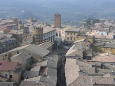 Orvieto from the top of torre del Moro