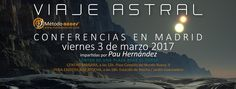 Vídeo de presentación de las próximas conferencias #viajeastral en Madrid: https://www.youtube.com/watch?v=HfIdCf3fWQA   #viajesastrales #ensueño @pauhernandezefc    www.metodoacces.com