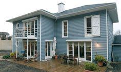 Le bardage en fibro-ciment, à poser sur la façade combinent rendu bois, résistance et isolation