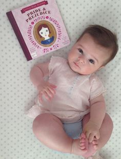 Little Wendy needs this. Pride & Prejudice counting book.
