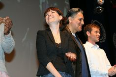 Fedcon XV, Opening Ceremony - Nicole DeBoer, Robert Beltram and Connor Trinneer on the background. May 19th, 2006