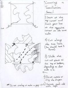 Drawing Projects, Art Projects, 8th Grade Art, Seventh Grade, Escher Art, Tessellation Patterns, Teaching Drawing, Art Classroom, Classroom Ideas
