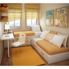 Примеры современного дизайна детских комнат для двух детей