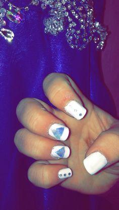 Prom nails! Galaxies
