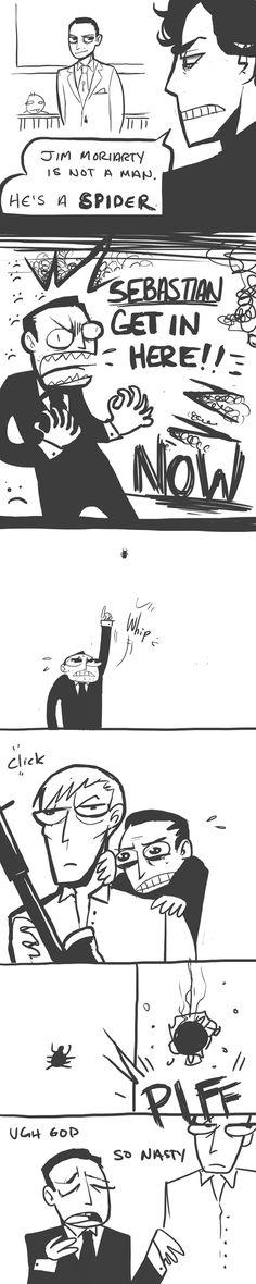 Sherlock: Spider by Lascaux.deviantart.com on @deviantART