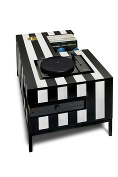 10 incredible record player consoles to reimagine your living space - The Vinyl Factory - the Home of Vinyl Custom Furniture, Furniture Design, Building Furniture, Record Player Console, Record Players, Jukebox, Living Spaces, Living Room, Kick Backs